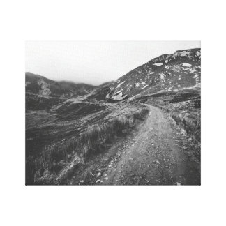 Roadtrip in Black and White photo print