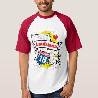 Roadtrip Louisiana '18 T-shirt (ragland)