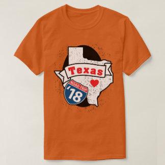 Roadtrip Texas '18 T-shirt (texas gold)