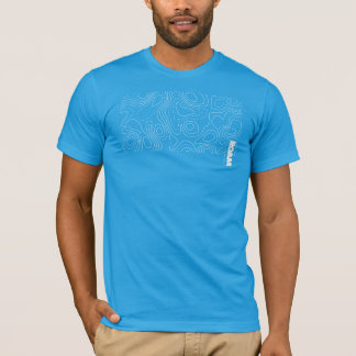 ROAM Apparel GIS Topographical Map T-Shirt