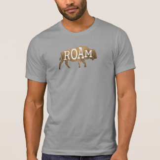 Roaming Buffalo T-Shirt