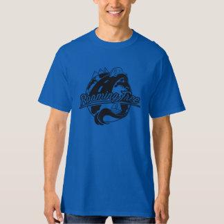 Roaming Free Colored B/W Front Logo T-Shirt