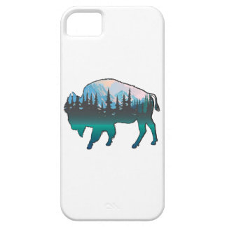 Roaming Yellowstone iPhone 5 Covers