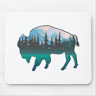 Roaming Yellowstone Mouse Pad