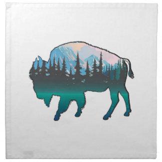 Roaming Yellowstone Napkin