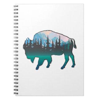 Roaming Yellowstone Notebook