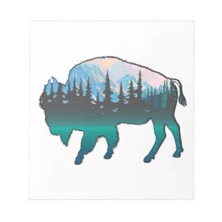 Roaming Yellowstone Notepad