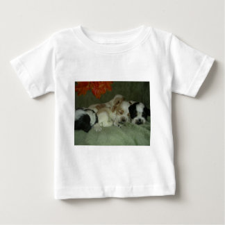 Roan Cocker spaniel  puppies. Nap Time! Baby T-Shirt