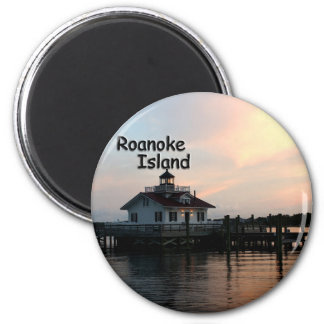 Roanoke Island Lighthouse Magnet