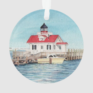 Roanoke Island Lighthouse Ornament