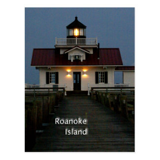 Roanoke Island Postcard