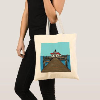 Roanoke Marshes Lighthouse- tote