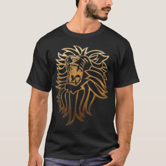 Roar Lion Graphic Apparel T-Shirt