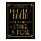 Roaring 20's Art deco Photo Booth print