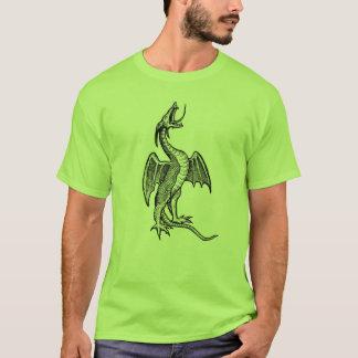 Roaring Black Dragon T-Shirt
