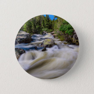 Roaring Colorado Ouzel Creek 6 Cm Round Badge