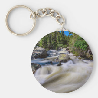 Roaring Colorado Ouzel Creek Key Ring