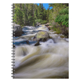 Roaring Colorado Ouzel Creek Spiral Notebook