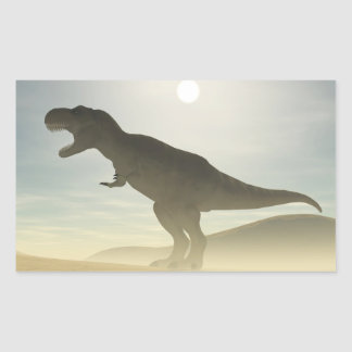 Roaring Dinosaur Stickers