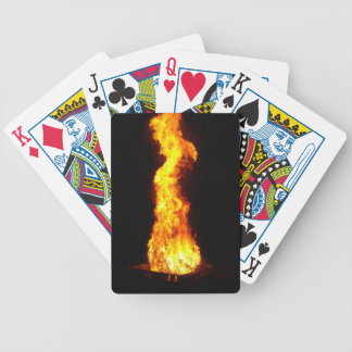 Roaring Flame playing cards