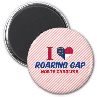 Roaring Gap, North Carolina 6 Cm Round Magnet