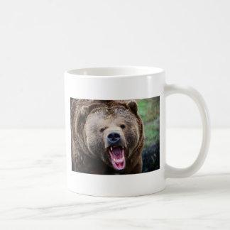 Roaring Grizzly Bear Coffee Mug