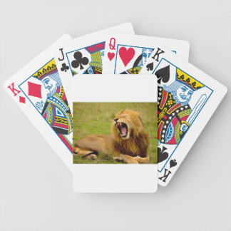 Roaring Lion Bicycle Playing Cards