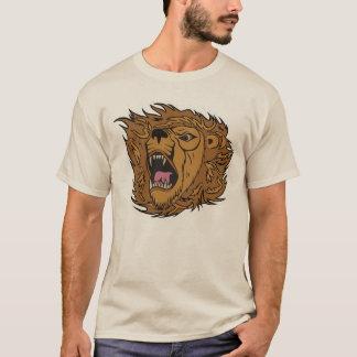 Roaring Lion Graphic Art T-Shirt