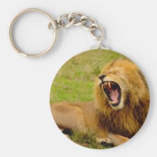 Roaring Lion Key Ring