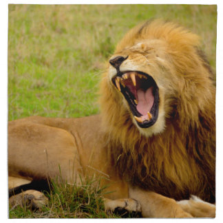 Roaring Lion Napkin