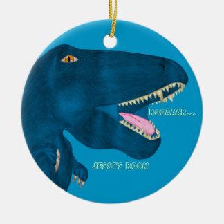Roaring Rex Ceramic Ornament