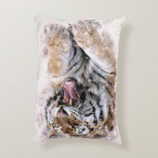 Roaring Tiger Accent Pillow