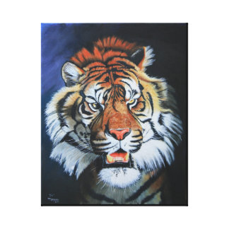 Roaring Tiger Gallery Wrap Canvas