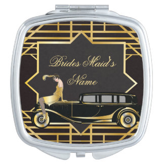 Roaring Twenties Gatsby Style Makeup Mirrors