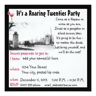 Roaring Twenties  Party Card