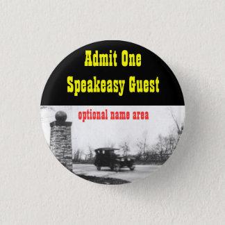 Roaring Twenties Prohibition Theme Name Badge