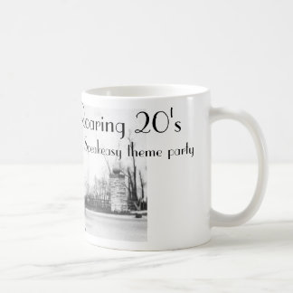 Roaring Twenties Speakeasy 1920's Coffee Mug