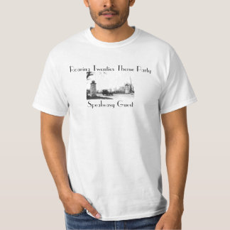 Roaring Twenties Speakeasy Theme Party T-Shirt