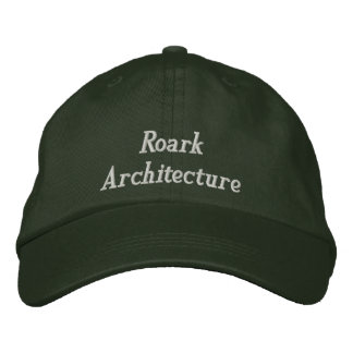 Roark Architecture Embroidered Baseball Caps