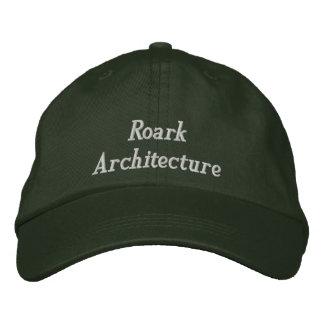 Roark Architecture Embroidered Baseball Caps