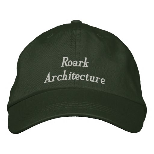 Roark Architecture Embroidered Baseball Cap