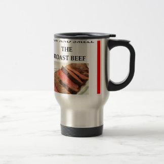 roast beef stainless steel travel mug