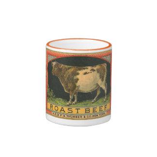 Roast Beef Ringer Mug