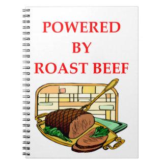 ROAST BEEF NOTEBOOK