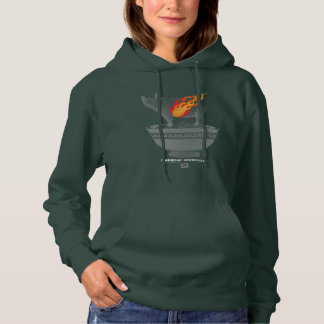 Roast Pork Belly | Forest Green Women Hoodie