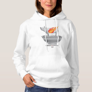 Roast Pork Belly | White Women Hoodie