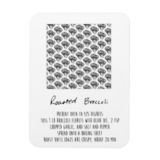 Roasted Broccoli Recipe Magnet