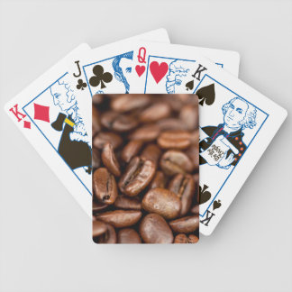 Roasted Coffee Beans Bicycle Playing Cards