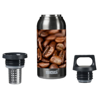Roasted Coffee Beans Insulated Water Bottle