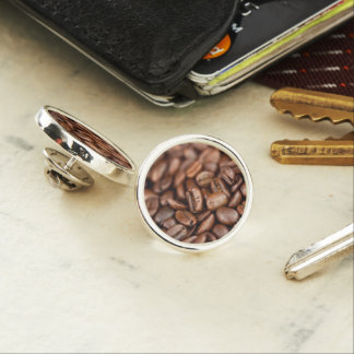 Roasted Coffee Beans Lapel Pin